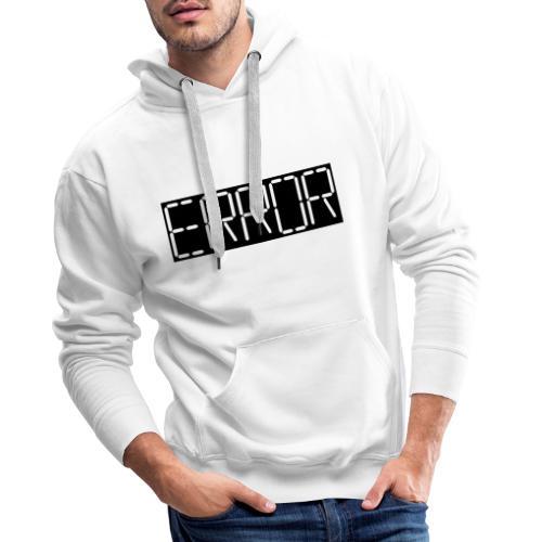 error - Men's Premium Hoodie