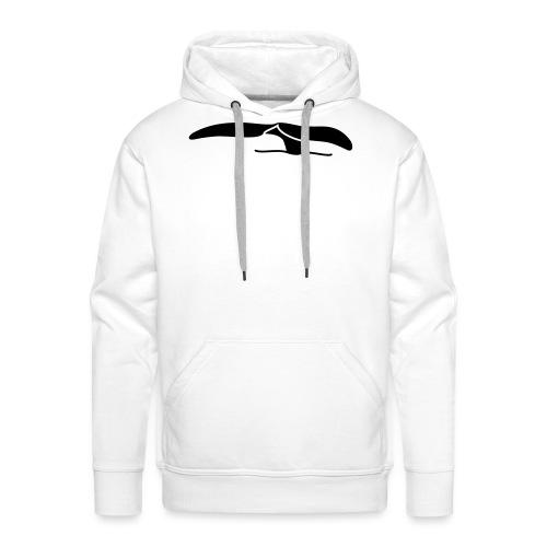 Walflosse-black - Männer Premium Hoodie
