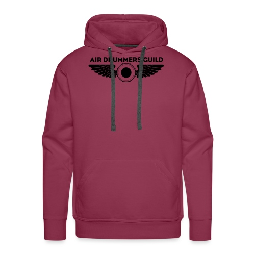 ADG Drum'n'Wings Emblem - Men's Premium Hoodie