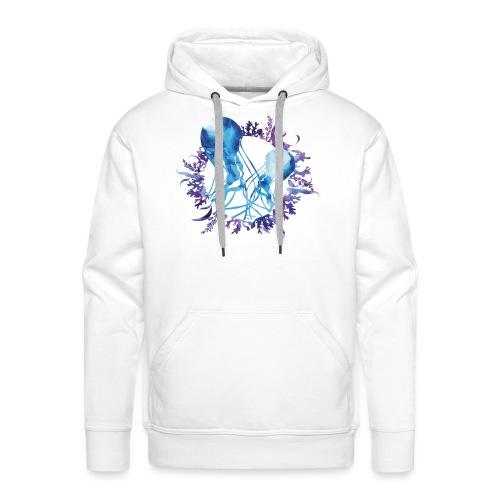 bluecontest - Sweat-shirt à capuche Premium pour hommes