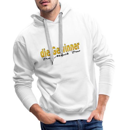 Das Moderne Schwarze - Männer Premium Hoodie