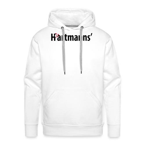 Heartmanns Schriftz. schw - Männer Premium Hoodie