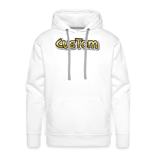 CusTom GOLD LIMETED EDITION - Mannen Premium hoodie