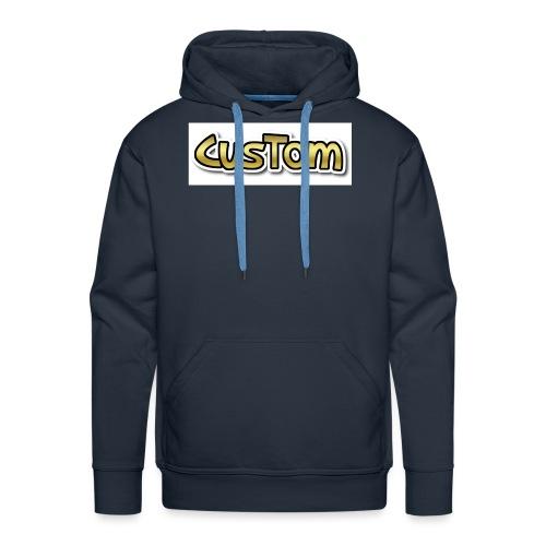 CusTom GOLD LIMETED EDITION - Mannen Premium hoodie