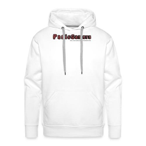 Maglia PanicGamers - Felpa con cappuccio premium da uomo