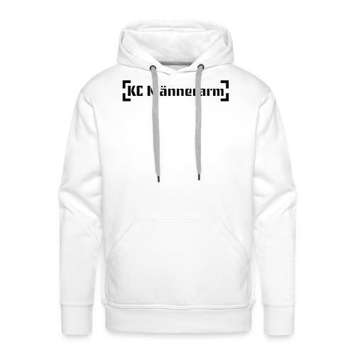KC Maennerarm Letter - Männer Premium Hoodie