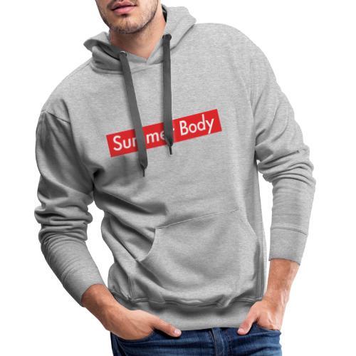 Summer Body - Sweat-shirt à capuche Premium pour hommes