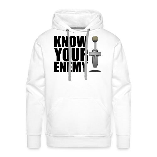 KNOW YOUR ENEMY - Männer Premium Hoodie