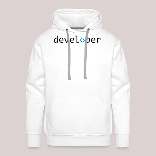developer, coder, geek, hipster, nerd - Männer Premium Hoodie