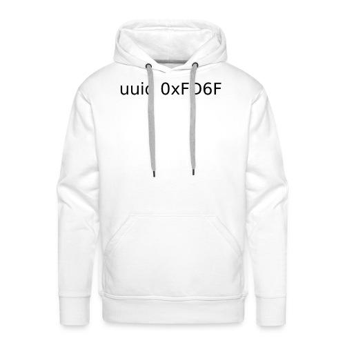 0xFD6F - Sweat-shirt à capuche Premium pour hommes