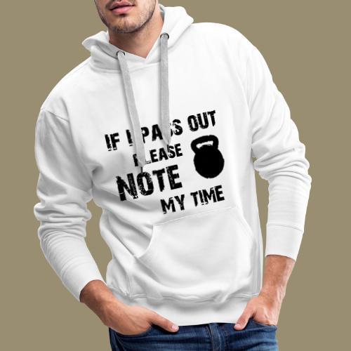 shirtsbydep passout - Mannen Premium hoodie
