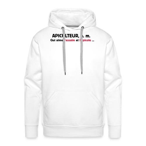 essaim - Sweat-shirt à capuche Premium pour hommes