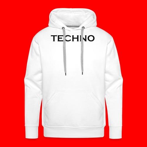 Parts of Life Techno Black - Männer Premium Hoodie