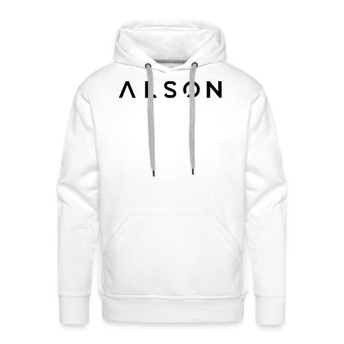 alson logo - Mannen Premium hoodie
