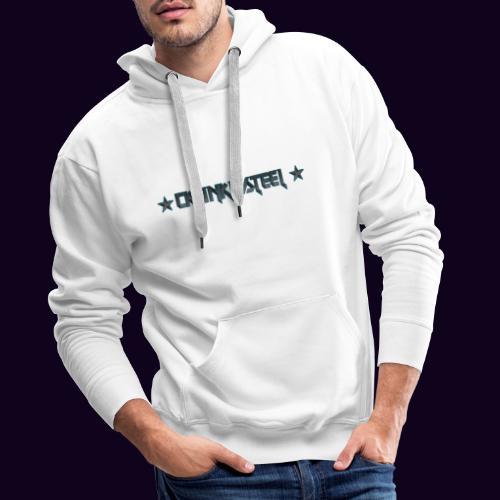 CRUNKYSTEEL - Sweat-shirt à capuche Premium pour hommes