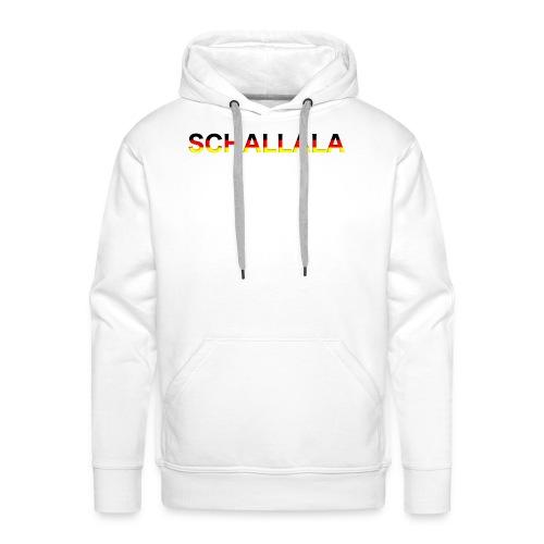 Schallala - Männer Premium Hoodie