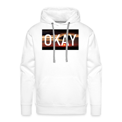 Quatrux Okay Okay - Männer Premium Hoodie