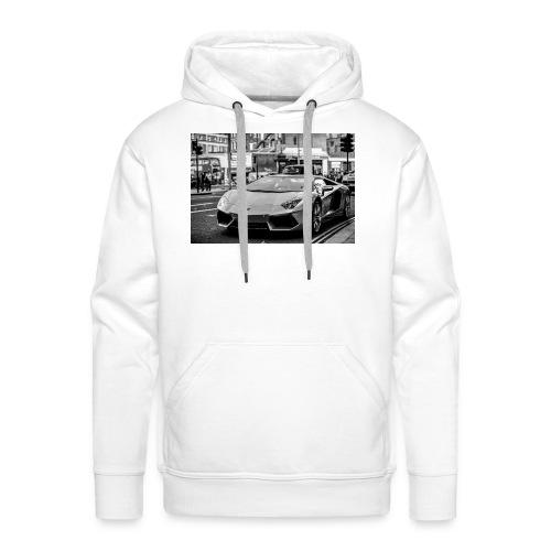 Lambo Aventador - Felpa con cappuccio premium da uomo