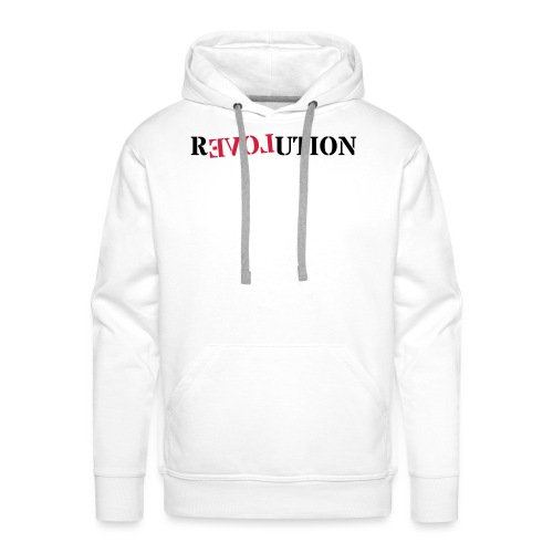 Revolution love - Men's Premium Hoodie
