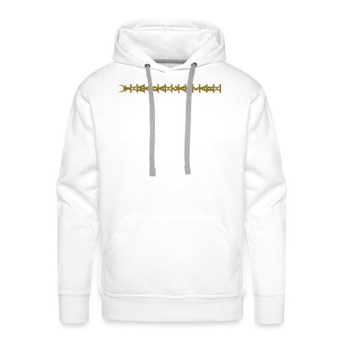 aloalo_horizontal - Sweat-shirt à capuche Premium pour hommes