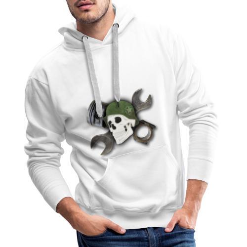 Peratec Customs Skull - Männer Premium Hoodie