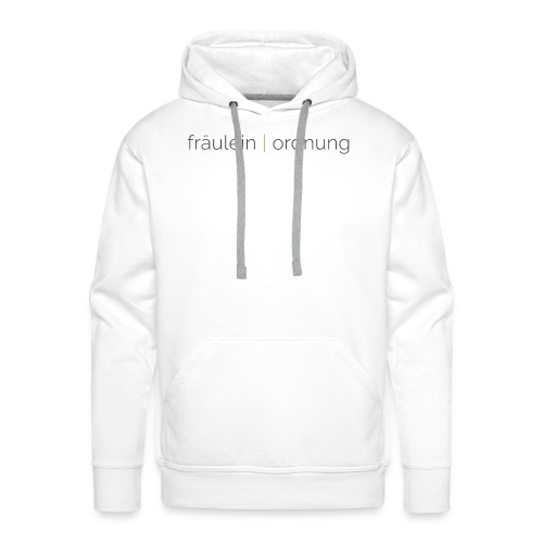 collect moments   not things - Männer Premium Hoodie