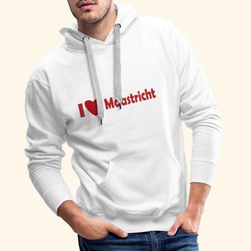 lovemaaastricht - Mannen Premium hoodie