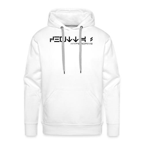 Chutta ! + logo (recto/verso) - Sweat-shirt à capuche Premium pour hommes
