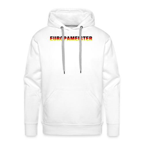 Europameister - Männer Premium Hoodie