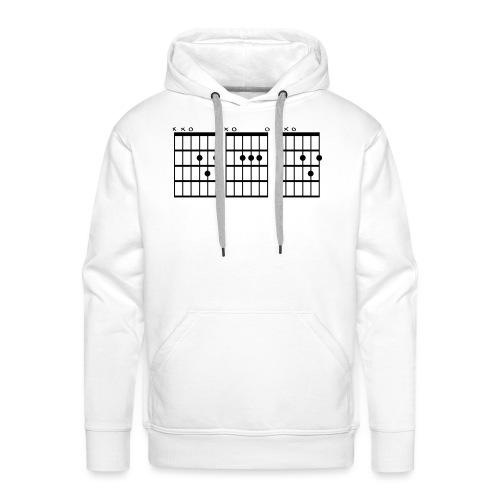 DAD guitar chords - Premiumluvtröja herr