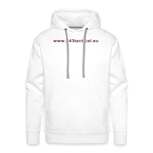 .243 Tactical Website - Mannen Premium hoodie