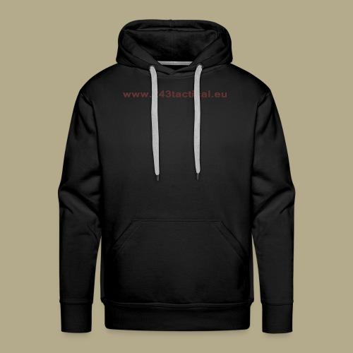 .243 Tactical Website - Mannen Premium hoodie
