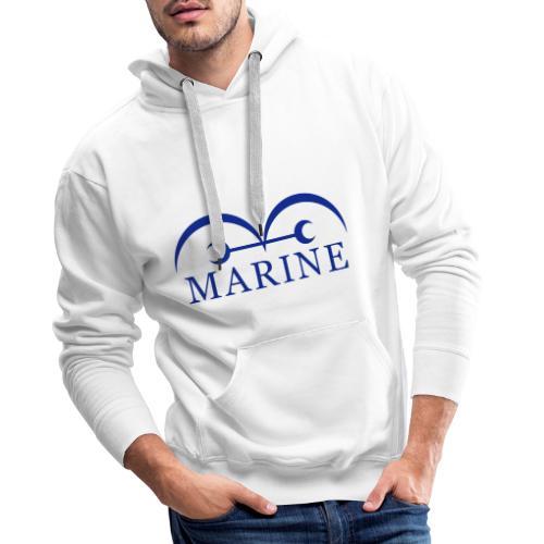 Marines - Sudadera con capucha premium para hombre