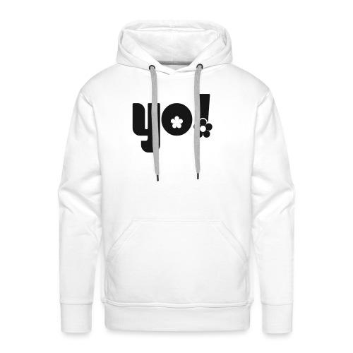 Yo power - Herre Premium hættetrøje