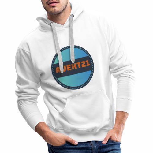 avent21 logo - Men's Premium Hoodie