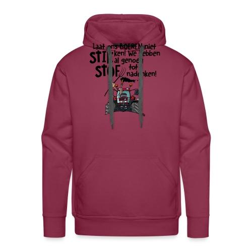 0505 stikstof - Mannen Premium hoodie