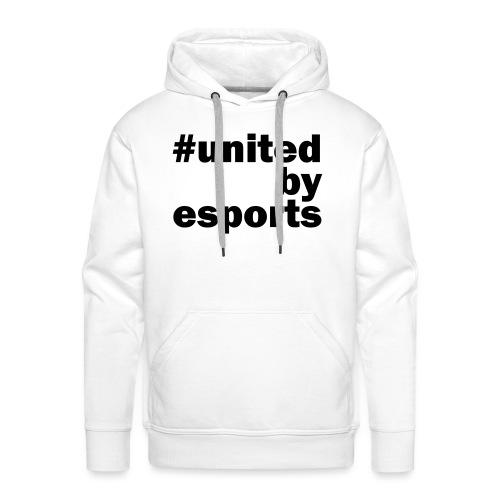 United By Esports schwarz - Männer Premium Hoodie