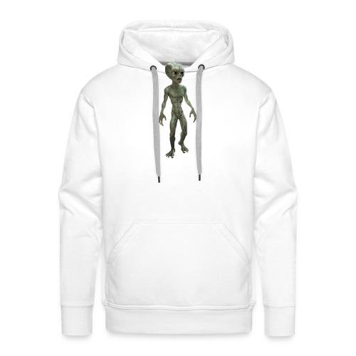 alien real - Sudadera con capucha premium para hombre