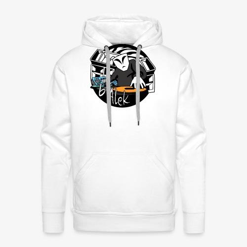 logo test hardtekno - Sweat-shirt à capuche Premium pour hommes