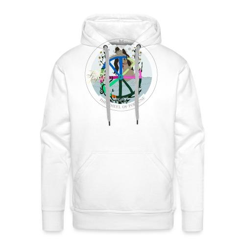 The Wheel of Fortune | Rad des Schicksals Tarot - Männer Premium Hoodie