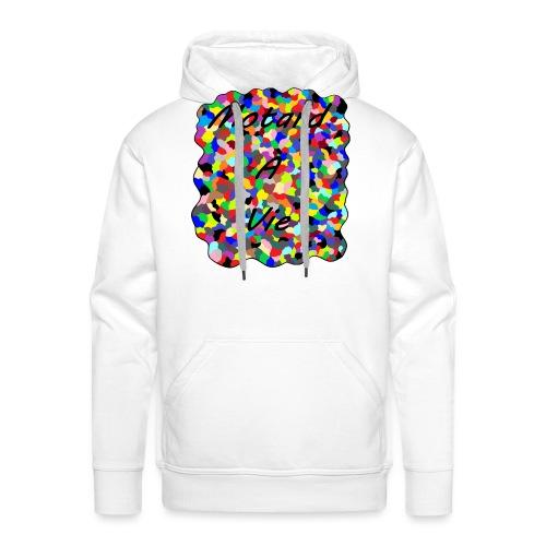 Motard à Vie - Sweat-shirt à capuche Premium pour hommes