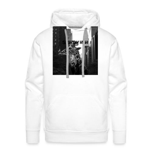 Slightly High Logo - Männer Premium Hoodie