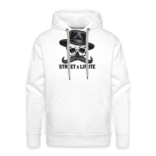 STREET SANS LIMITE - Sweat-shirt à capuche Premium pour hommes