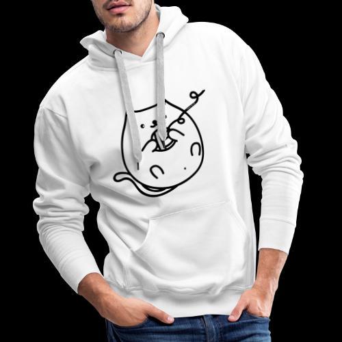 classic fat cat - Männer Premium Hoodie
