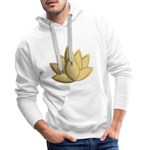 Lotus - Sweat-shirt à capuche Premium pour hommes