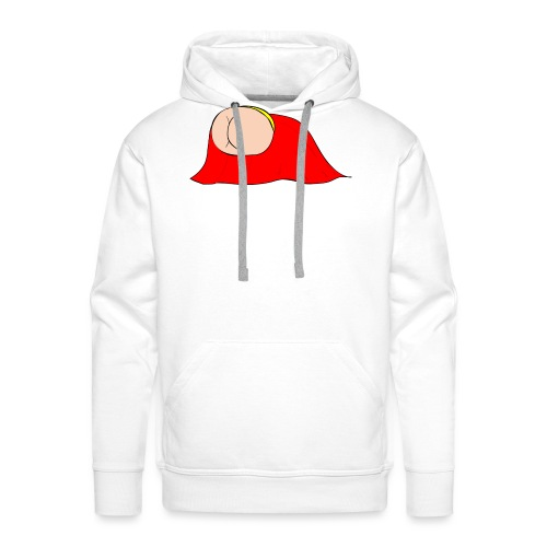 Flying Bum (diagonal) - without text - Men's Premium Hoodie