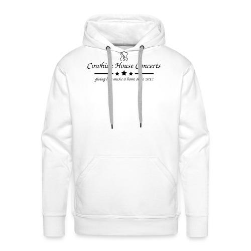 Cowhide House Concerts - Standard Design - Männer Premium Hoodie