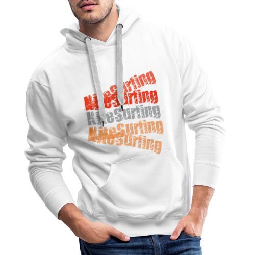 kitesurfing - kiteboard | Zensitivity - Mannen Premium hoodie