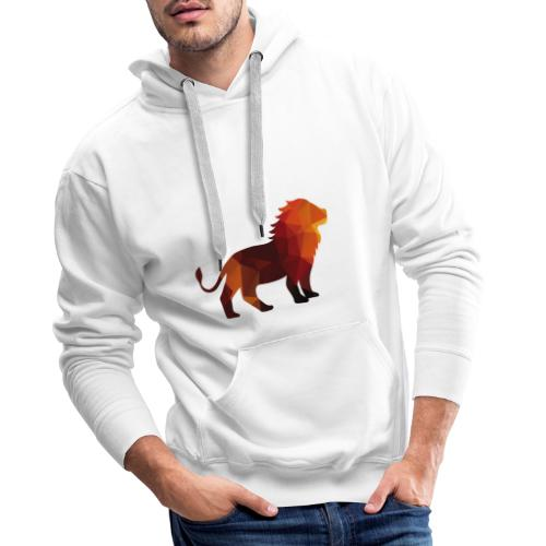 The Lion of Wall Street - Men's Premium Hoodie