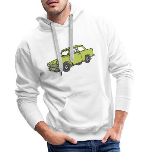 Trabi, Trabant (baligrün) - Männer Premium Hoodie